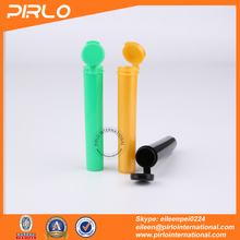10ml hinged top tube vial colorful pharmaceutical plastic pill tube