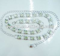 Jeweled chain belt(BL-390)