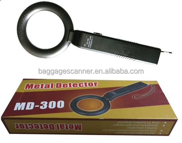 MD-300 hand held metal detector body scanner with wholesale price