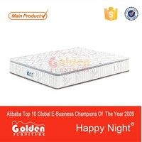 9 yr GOLD SUPPLIER CIFF Design single bed mattress price S1202