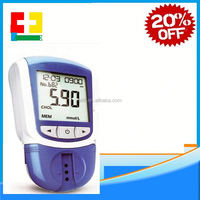 Bluetooth 4.0 Glucose / Cholesterol 2in1 Meter