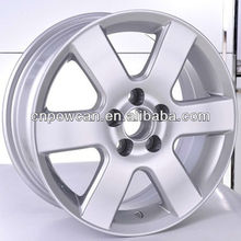 Hyper silver Black Gunmetal Painting Front and Rear Size 15x6.5 Japanese Car PCD 5X100 aluminum alloy wheel racing wheel