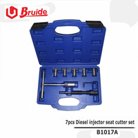 7pcs Diesel injector seat cutter set of Auto repair tool / vehicle tools