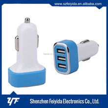 tyre shape dual usb car charger