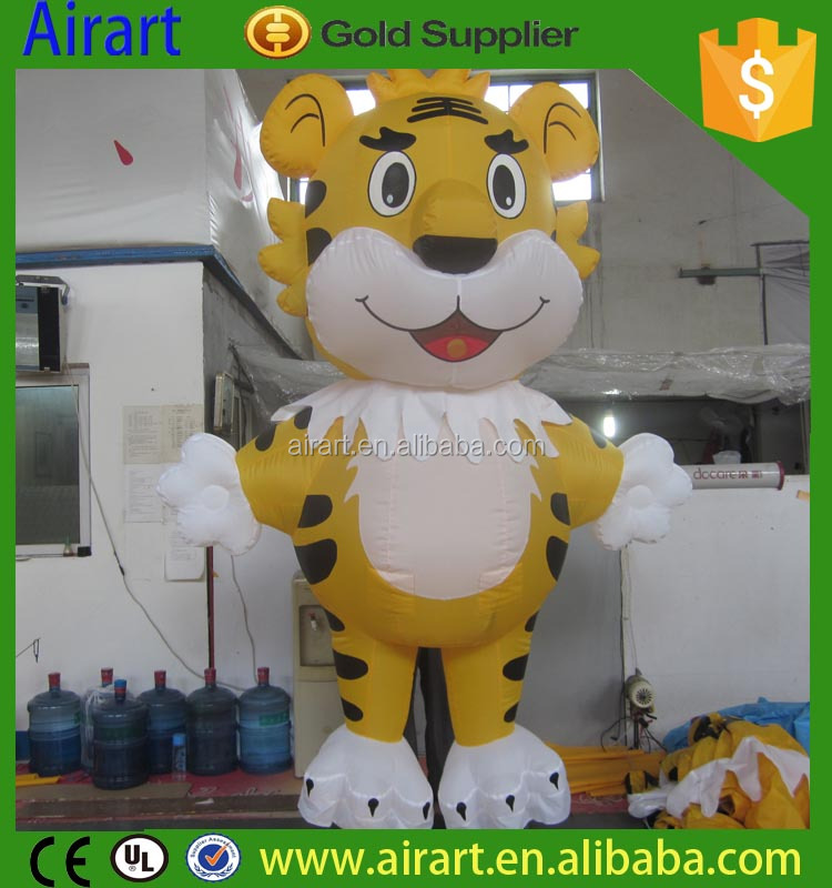 Inflatable Cartoon, Advertising Inflatables, Inflatable Tiger Mascot