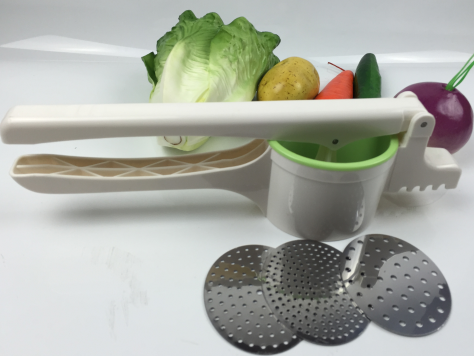 Free sample kitchen grater potato masher for soups, potato tools mlti function potato masher grinder machine as seen on TV