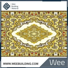 Item:6HG0227 Yellow Polished Crystal Carpet Tile