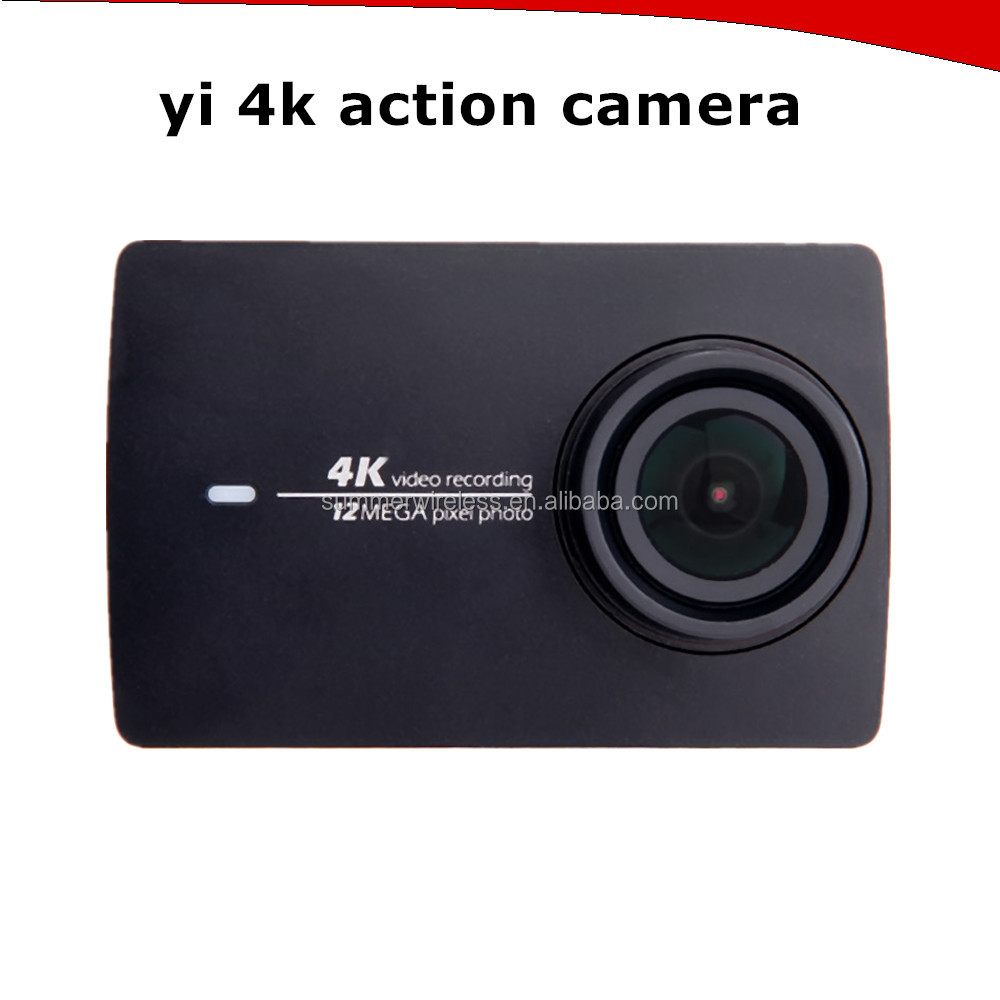 In Stock Original high quality Xiaomi YI 4K Action Camera 2 hours 4K/30 video recording international version
