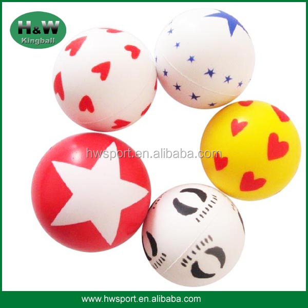 colorful anti stress ball for adults or kids