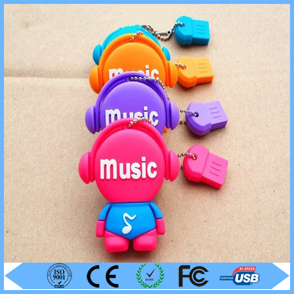 Factory music baby Christmas gift usb flash drive