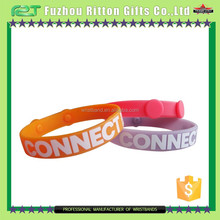birthday party occassion fashion silicone bracelet