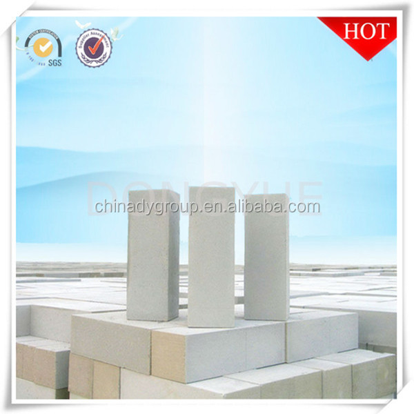 China high quality aac block with sand lime cement aluminum as raw material for sale from donyue brand