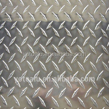 3003 H14 aluminium tread plate with 5 bar, 3 bar, 1 bar pattern