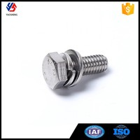 GB9074.17 Hex Bolt with Spring and Washer