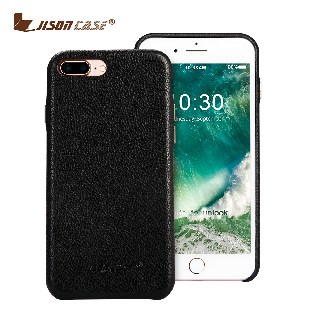 Genuine Leather Back Cover Case OEM for iphone 7 real leather phone case