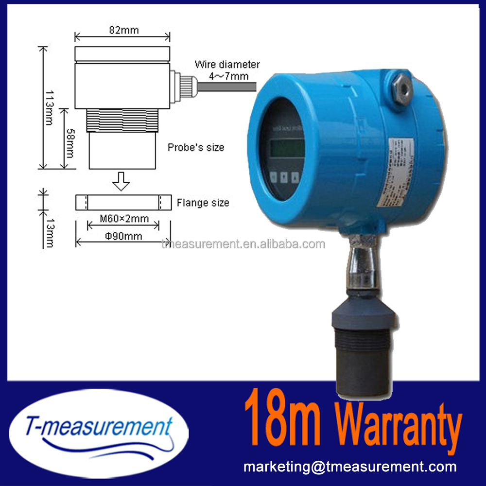 High quality ultrasonic level meter construction/Level Transmitter