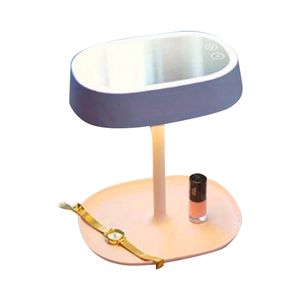 Modern wireless rechargeable dimmable led desk lamp small led reading lamp decorate study cordless fancy nail table lamp