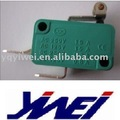 green colour copper or silver contacts micro switch(YW3-306-b 16A125V/250V AC)