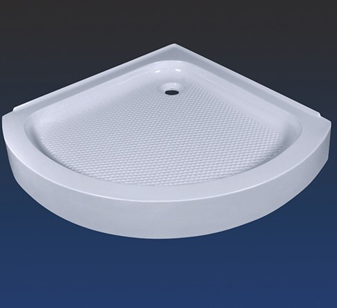 acrylic freestanding cast iron shower tray for bathroom design
