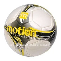 Official size and weight laminated PU soccer ball football