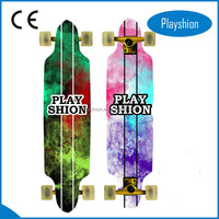 9 ply Drop Down Chinese Northeast Maple Longboard Skateboard