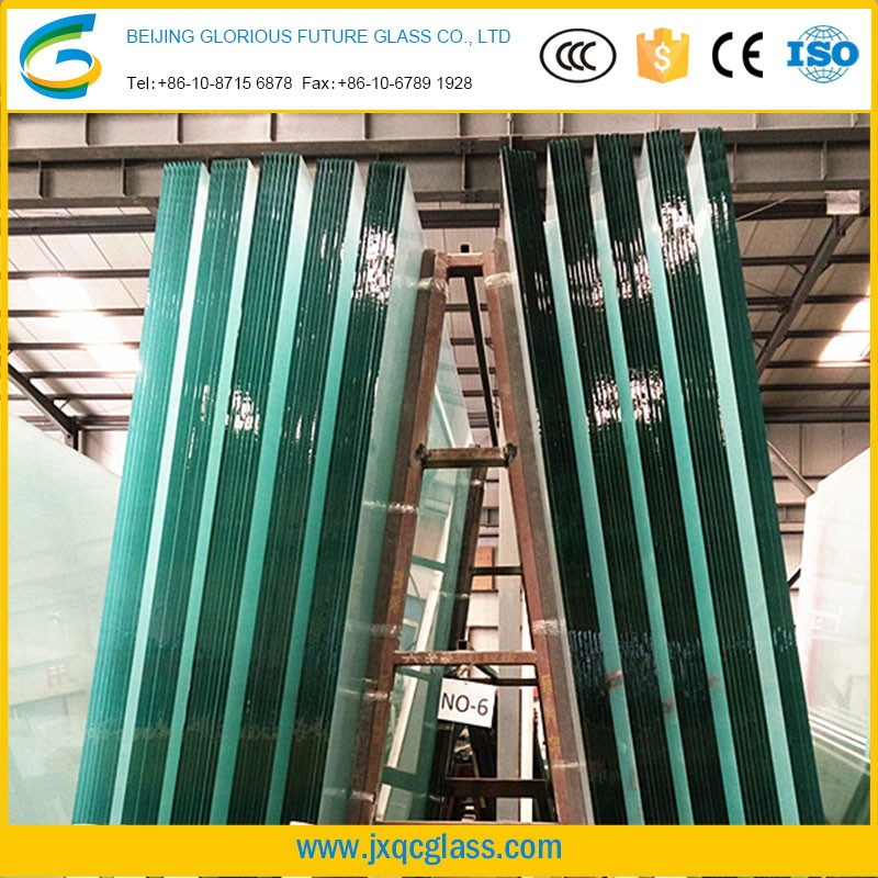High strength explosion-proof tempered glass film Used in doors Windows curtain wall