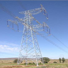 110kv steel structure latticed column power transmission line tower