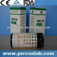 urine dipstick test strip,rapid check urine FDA CE ISO