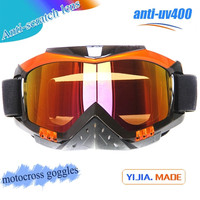 Wholesale dirt off motocross goggles bottom price latest black motorcycle goggles custom design black motocross goggles