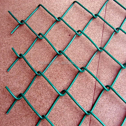 Rhombus Wire Mesh/Galvanized Chain Link Fence