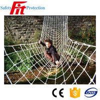 polyester river rope net bridge