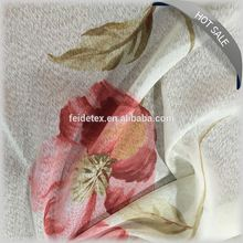LUXURIOUS DESIGN THERMAL INSLUTION printed STEREO WOVEN DRAPERY