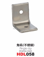Toilet Cubicle Partition Fittings angle bracket/ angle clip