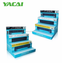Cardboard POP counter top display stand,corrugated counter display