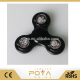 New design fidget spinner toy glowing for stress relief