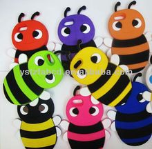 2013 new design candy bee silicone phone case for Iphone 5