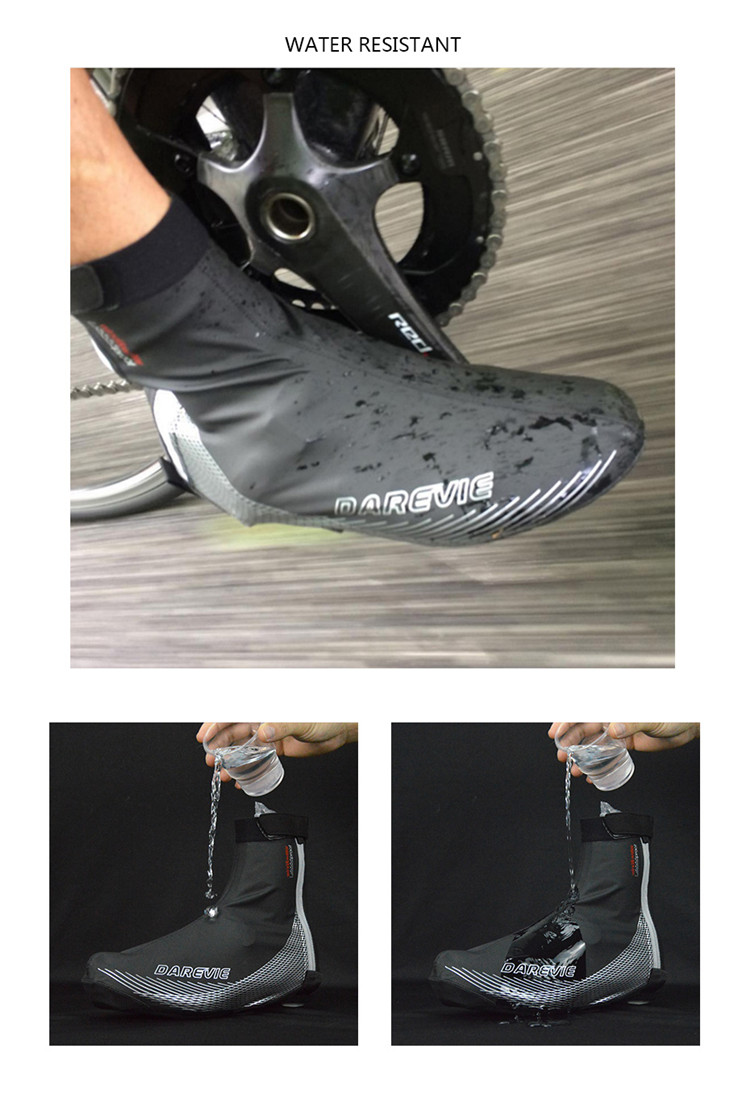 Darevie OEM Professional Anti-Slip Compatible with all road cleat systems Windproof /waterproof Cycling Booties Shoe Covers