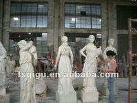 fiberglass sculptures statues religious resin woman body statues
