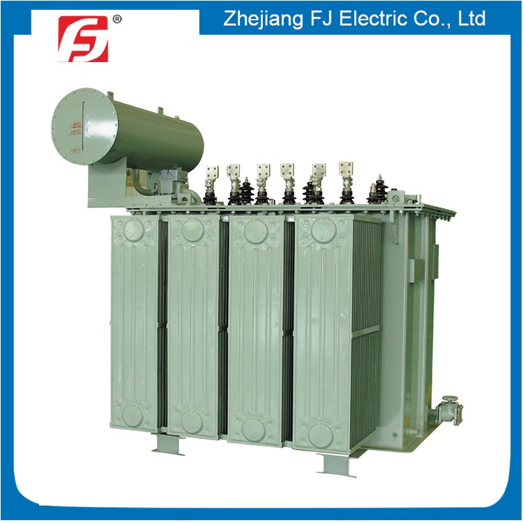 Perfect Performance 11KV Three Phase Oil Immersed 2000KVA Distribution Transformer