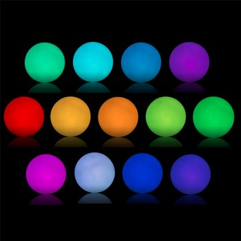 New Product Ideas 2018 Party Supplies Color Changing Hanging Ball Garden Light For Home Front Design
