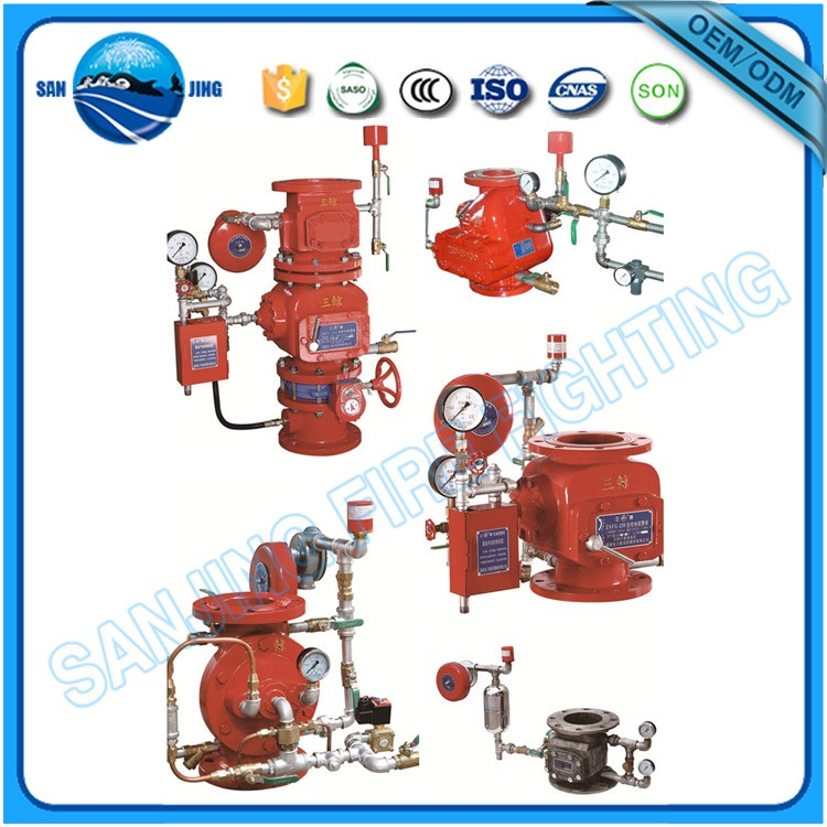 Factory Supply Fire Fighting Preaction Device with alarm valve