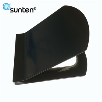 Sanitary Ceramic Closed Front SU021 Indian D Shape Soft Close Toilet Seat Price