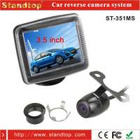 Car dvd player with reversing dc 12v cmos camera security system