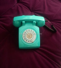 Rotary Retro landline telephone old fashioned corded phones