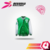Custom Attractive Leather Sleeves Letterman Baseball Jacket