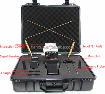 PRO-5050 50m Deep Gemstones Metal Detector Professional Underground Gold and Silver Detector