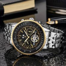 military male fancy classic men multifunction waterproof wrist brand your own automatic watch for gift hand watches men