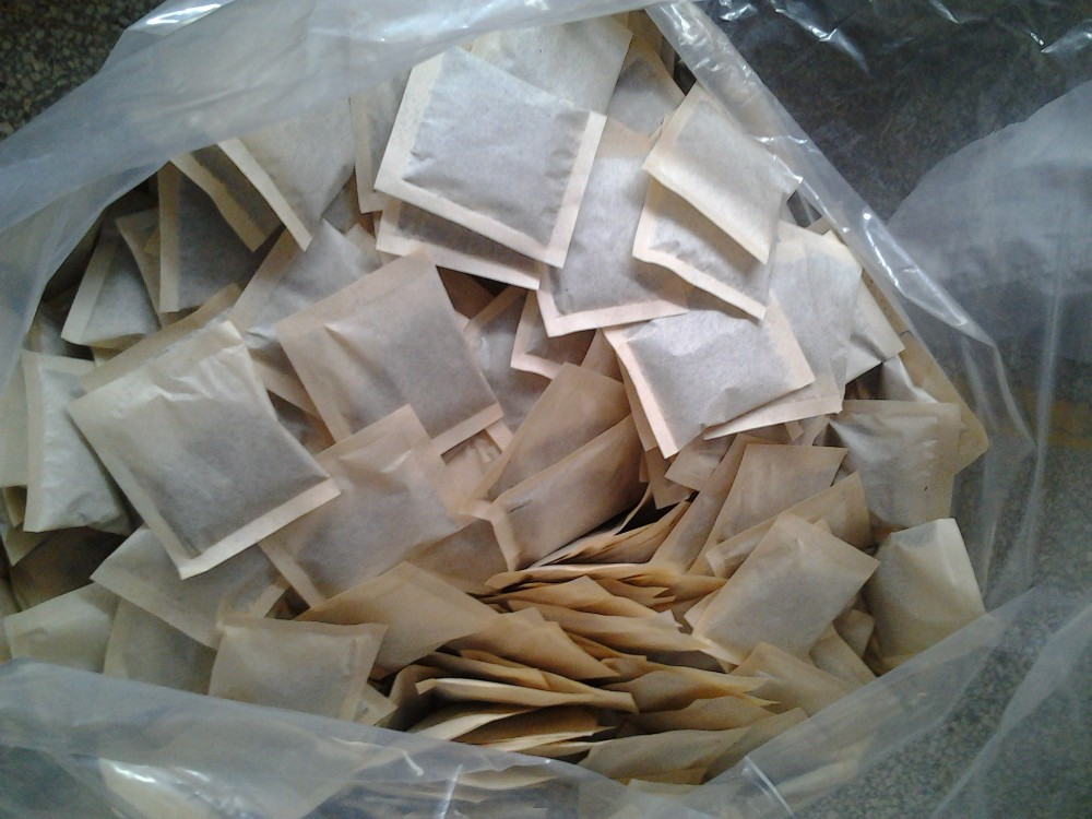 Double Ring Heatsealable filter paper for tea bag