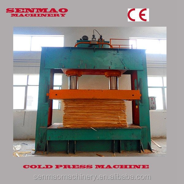 plywood prepress machine/cold press machine/mdf board making machine