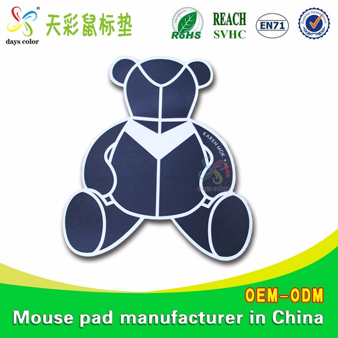 Fabric Customized Advertising Logo Sublimation Gaming Mouse Pad Promotional Product
